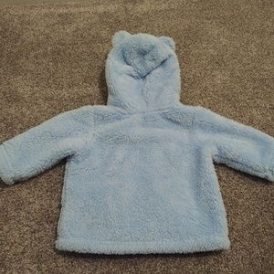 Carter's Shirts & Tops - Baby Fuzzy Zip Up Sweater/Jacket